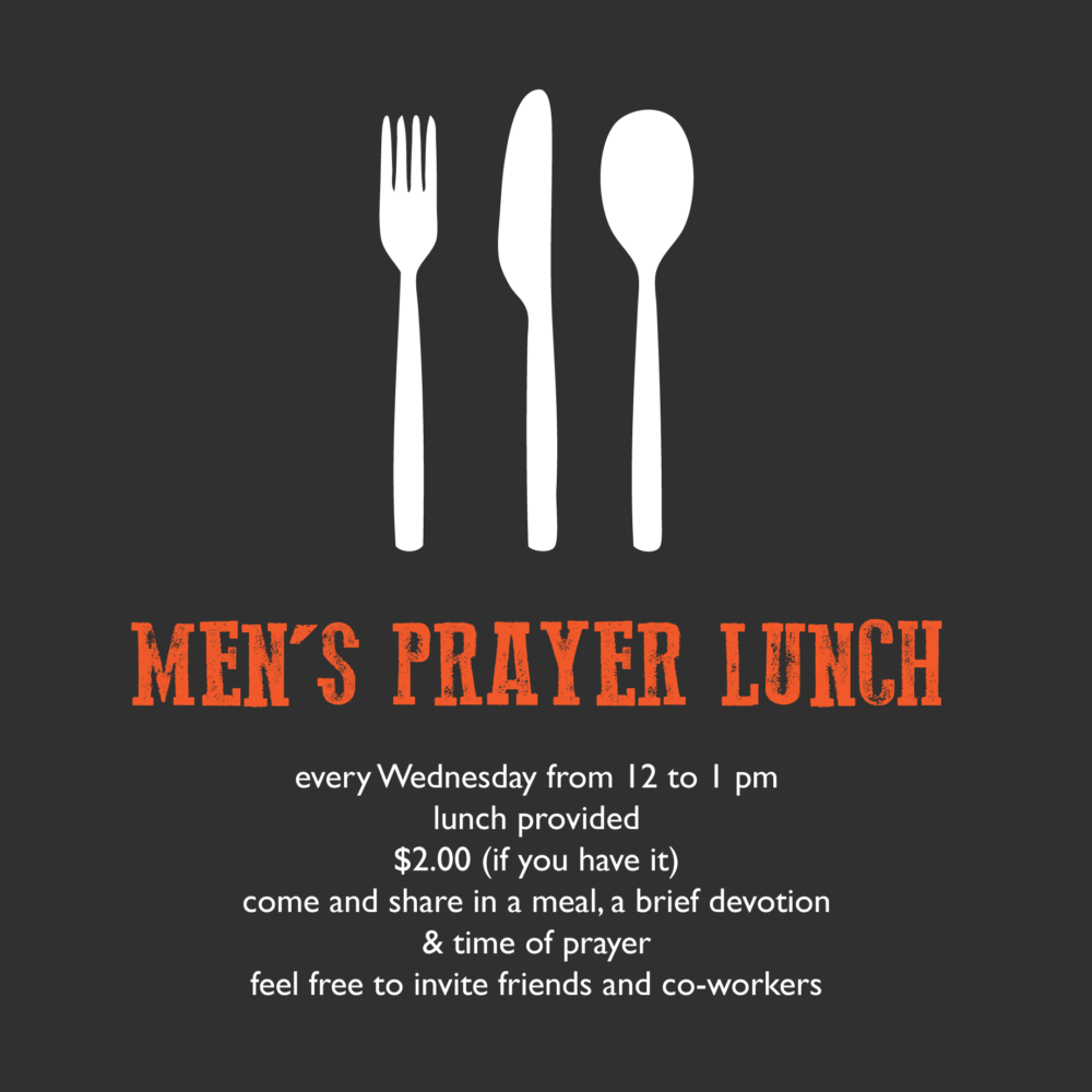 Men's Prayer Lunch