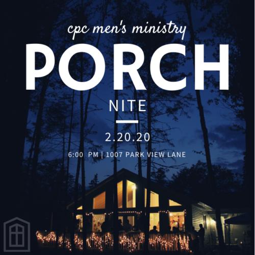 Porch Nite