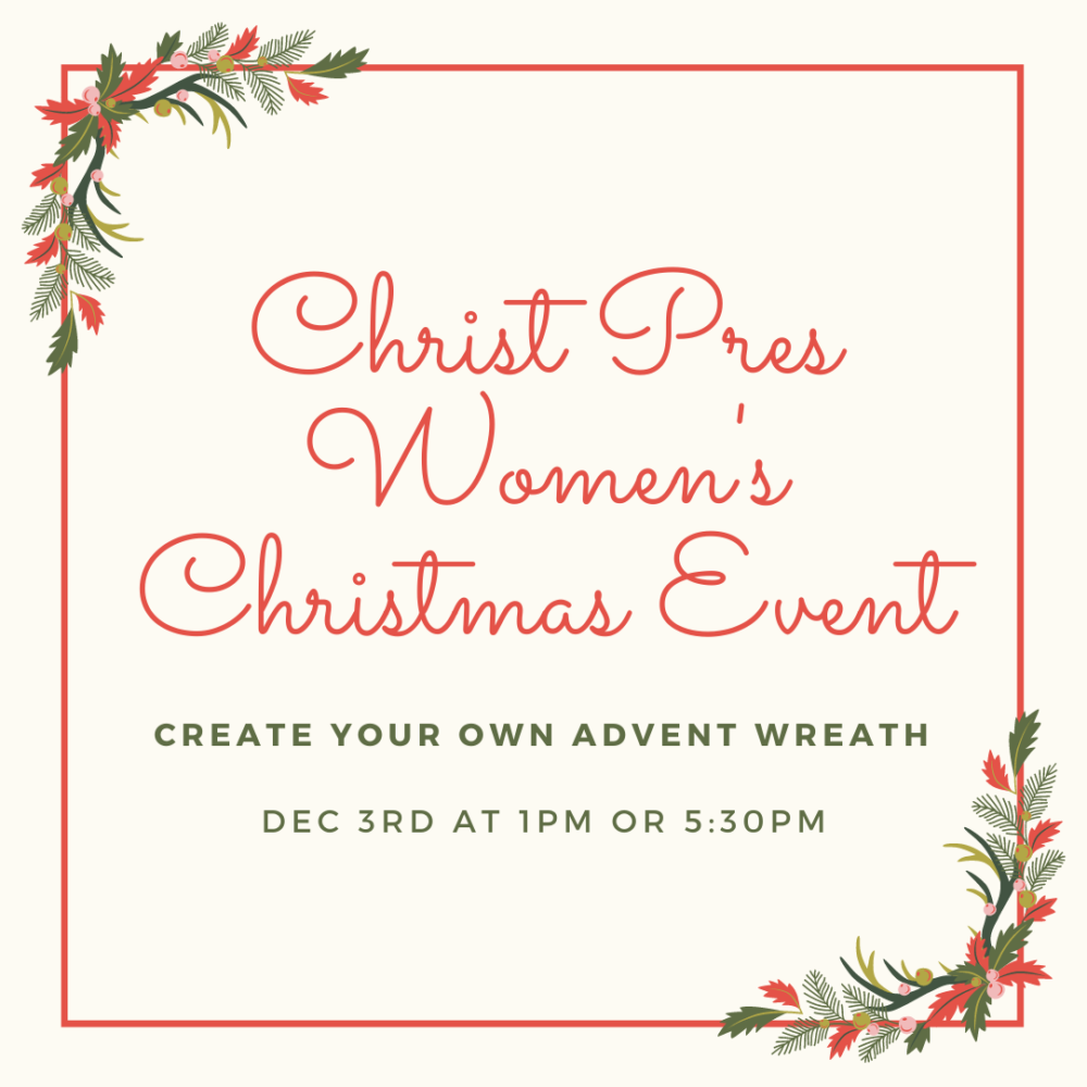 Women's Christmas Event